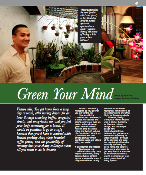 """Green Your Mind"", CEMEX+Me Issue No. 4"