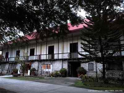 Cafe Lawis' charming facade, behind the Dauis Church (Bohol, Philippines)   Photo by Niña Terol-Zialcita