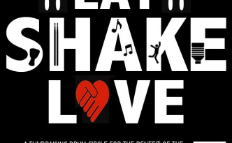 EAT, SHAKE, LOVE: A Fundraising Drum Circle for the Visayas Earthquake Victims | Sunday, 27 October 2013 | Sev's Cafe