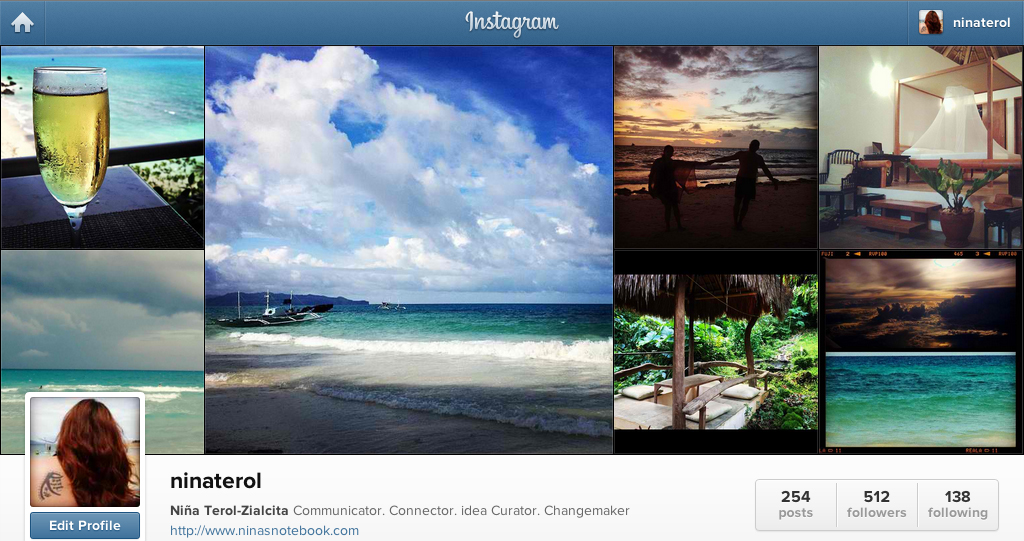 Niña Terol-Zialcita (@ninaterol) on Instagram