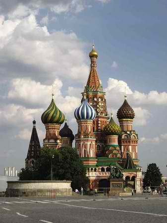 St. Basil's Cathedral (courtesy of the Russian Embassy)