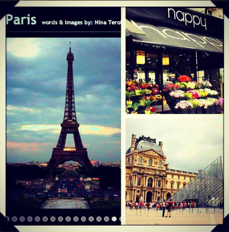 PARIS COLLAGE by Niña Terol-Zialcita | View more travel photos at @ninaterol on Instagram