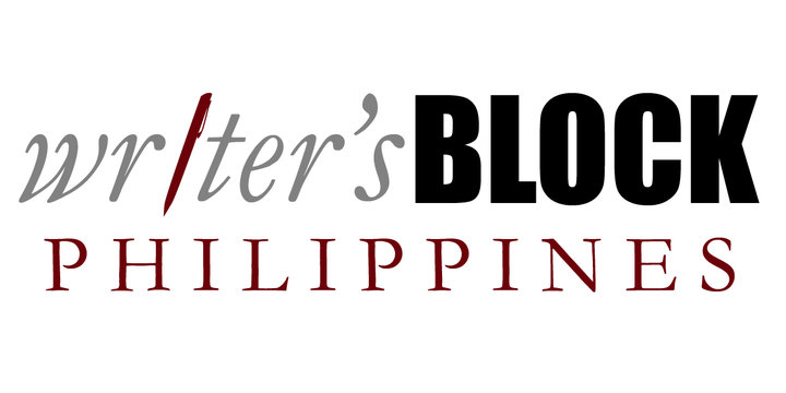 Writer's Block Philippines logo | Designed by Niña Terol-Zialcita (2010)