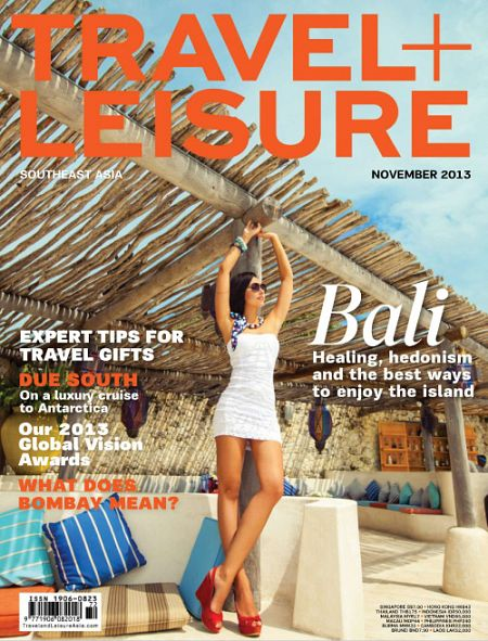 The November 2013 issue of Travel + Leisure Southeast Asia | Click on the image to visit their Facebook page to see more great content and cool promos