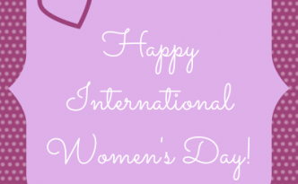 Happy International Women's Day! | Graphic by Niña Terol-Zialcita, created using Canva.com