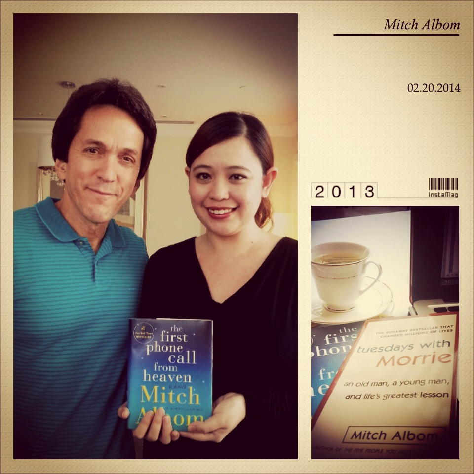 A Tuesday with Mitch Albom