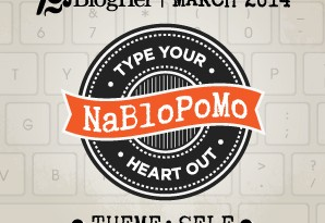 BlogHer's NaBloPoMo badge for March | Click on the image for more details