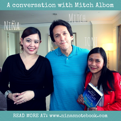 Lessons from a conversation with best-selling author Mitch Albom