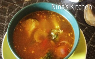 Chicken-Broccoli Soup for the Soul from Niña's Kitchen | Photo by Niña Terol-Zialcita