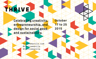 THRIVE MANILA | October 17 to 25, 2015 | Click on the image to visit the THRIVE Facebook page and learn more about this inspiring event